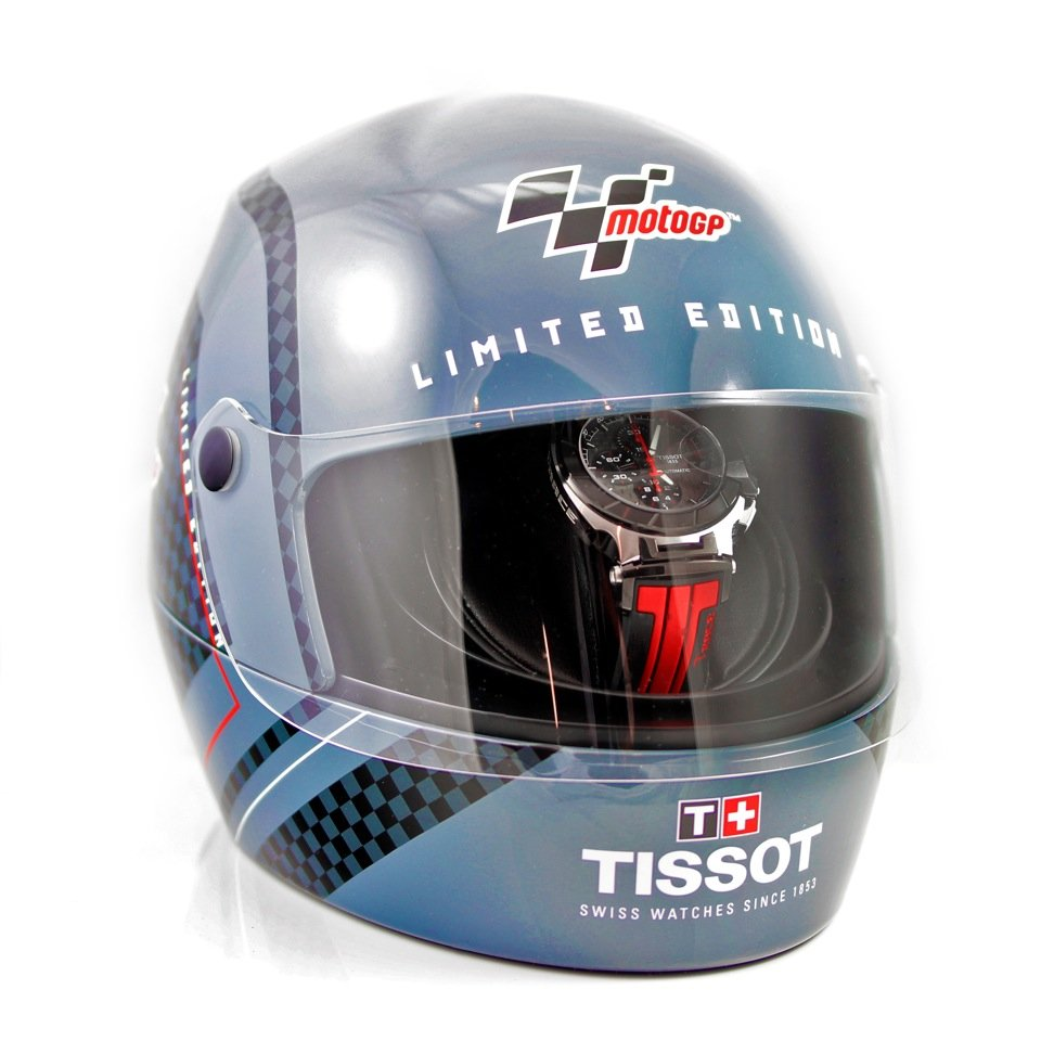 Tissot MotoGP Helmet Closed