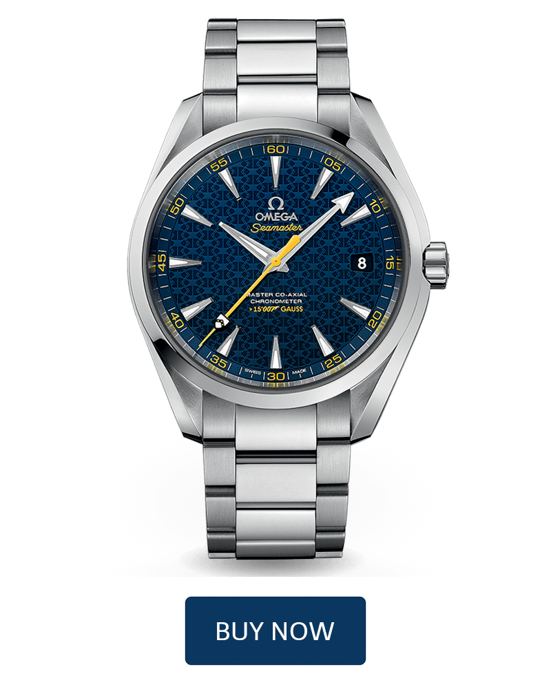 Buy Omega Seamaster Aqua Terra James Bond 15,007 Gauss Limited Edition Watch Online