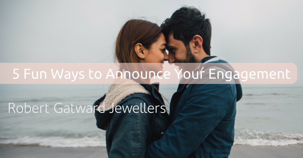 5 Fun Ways To Announce Your Engagement. Photo credit: unsplash.com