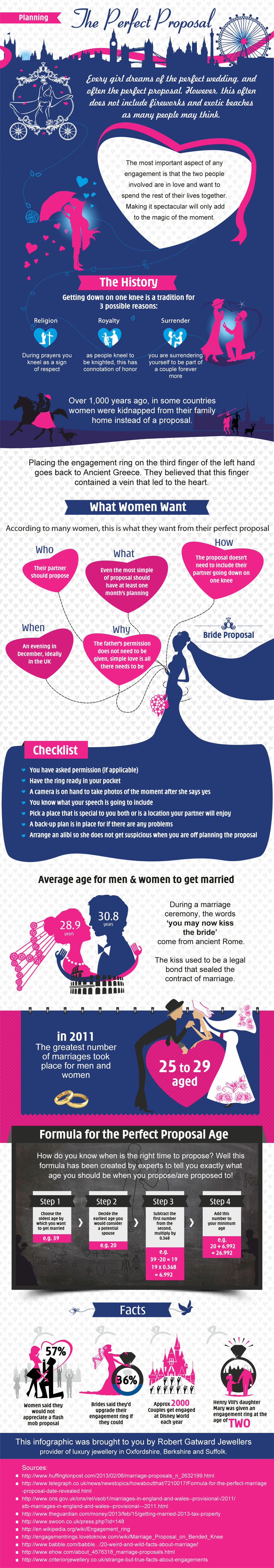 The Perfect Proposal Infographic