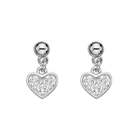 If your woman is the life of the party, she will wow everyone with these modern, sterling silver Heart Stargaze Earrings by Hot Diamonds. Crafted in smooth 925 sterling silver adorned with dazzling diamonds, how could you go wrong with these romantic and fashionable Stargazer Heart Earrings. WERE £59.95 NOW £48