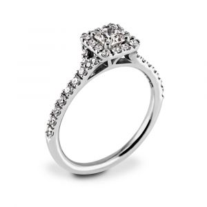 Hearts On Fire Transcend Platinum 0.63-0.73ct Diamond Engagement Ring SPECIAL