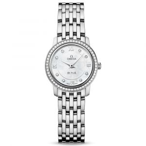 Omega De Ville Prestige Diamond Quartz Ladies Watch O42415246055001 SPECIAL