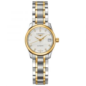 Longines Master Collection Two Tone Ladies Watch L21285777 Main