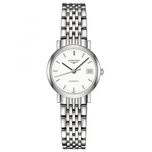 Longines Ladies Elegant Collection Stainless Steel Automatic Watch L43094126