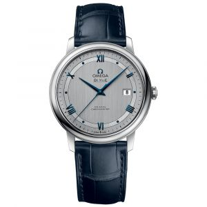 Omega Gents De Ville Presitge Co-Axial Stainless Steel Watch O42413402002003