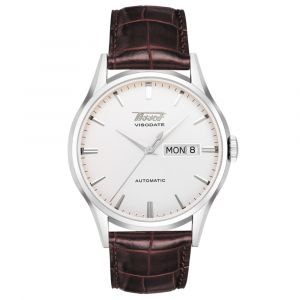 Tissot Gents Heritage Visodate Stainless Steel Day & Date Automatic Watch T0194301603101