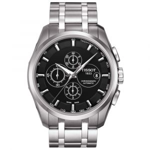 Tissot Gents T-Classic Couturier Automatic Chronograph 43mm Watch T0356271105100