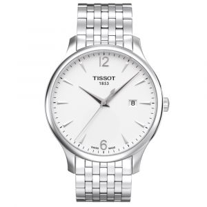 Tissot Gents T-Classic Tradition Silver Dial Watch T0636101103700 SPECIAL