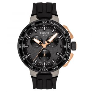 Tissot T-Sport T-Race Cycling Chronograph Steel & Rose PVD Watch T1114173744107