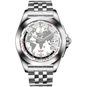 Breitling Gents Galactic Unitime Stainless Steel Watch WB3510U0/A777/388A SPECIAL