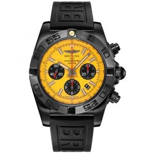 Breitling Gents Chronomat Chronograph Blacksteel Watch MB0111C3/I531/262S SPECIAL