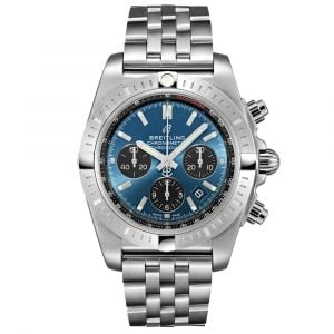Breitling Gents Chronomat B01 Chronograph Stainless Steel Watch AB0115101C1A1