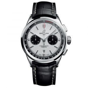 Breitling Gents Premier B01 Chronograph 42mm Stainless Steel Automatic Watch AB0118221G1P1