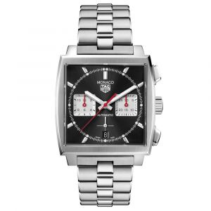 TAG Heuer Monaco Calibre Heuer 02 Chronograph Stainless Steel Automatic Gents Watch CBL2113.BA0644