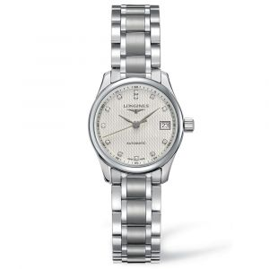 Longines Ladies Master Collection Stainless Steel Diamond Watch L21284776