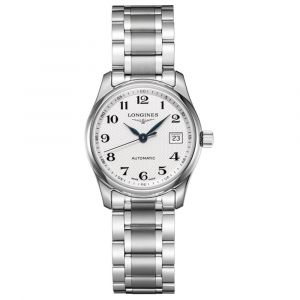 Longines Master Collection 29mm Silver Dial Automatic Ladies Watch L22574786
