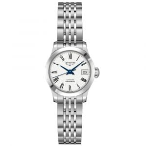 Longines Ladies Record Collection Stainless Steel Watch L23204116