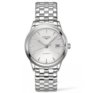 Longines Gents Flagship Stainless Steel Silver Dial Automatic Watch L48744726 SPECIAL
