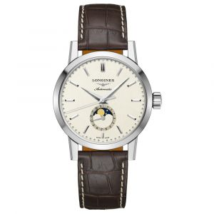 The Longines 1832 Stainless Steel 40mm Automatic Moonphase Gents Watch L48264922