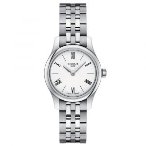 Tissot T-Classic Tradition 5.5 Lady White Dial Watch T0630091101800
