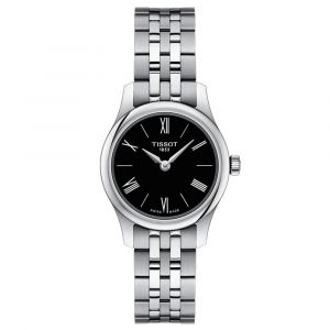 Tissot T-Classic Tradition 5.5 Lady Black Dial Watch T0630091105800