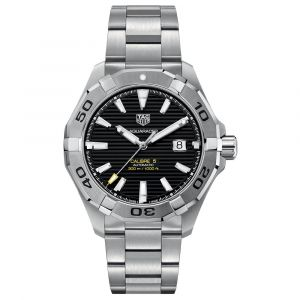 TAG Heuer Aquaracer Gents 43mm Black Dial Stainless Steel Automatic Watch WAY2010.BA0927 SPECIAL