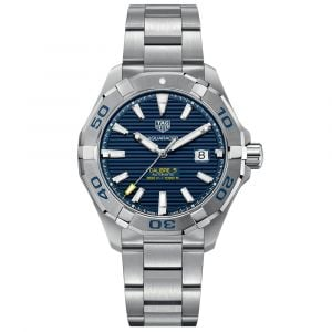 TAG Heuer Gents Aquaracer 43mm Blue Dial Stainless Steel Automatic Watch WAY2012.BA0927