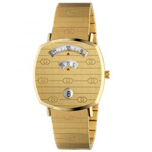 Gucci Grip Stainless Steel & Gold PVD Watch YA157403 SPECIAL