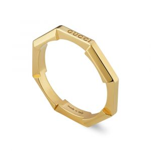 Gucci 18ct Yellow Gold Link To Love Ring YBC662194001