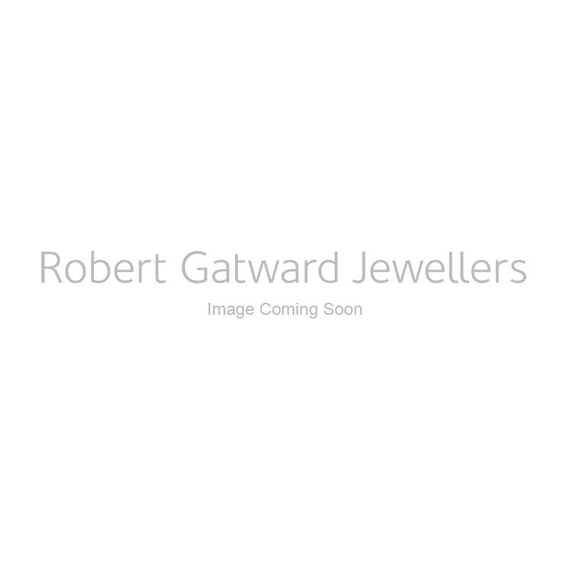 18ct White Gold 0.24ct Ruby and 0.10ct Diamond Necklace