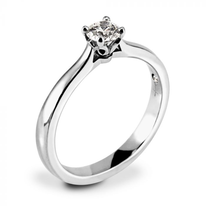 Hearts On Fire Simply Bridal Platinum 0.33ct Diamond Engagement Ring SPECIAL