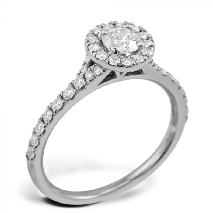 Hearts On Fire Transcend Platinum 0.71ct Diamond Engagement Ring SPECIAL