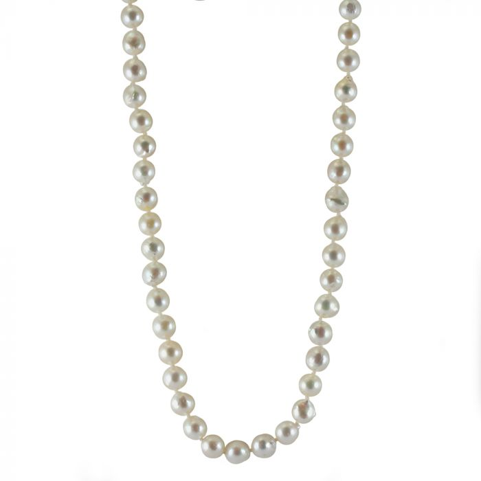 Michiko 18ct Yellow Gold Baroque Pearl Necklace SPECIAL