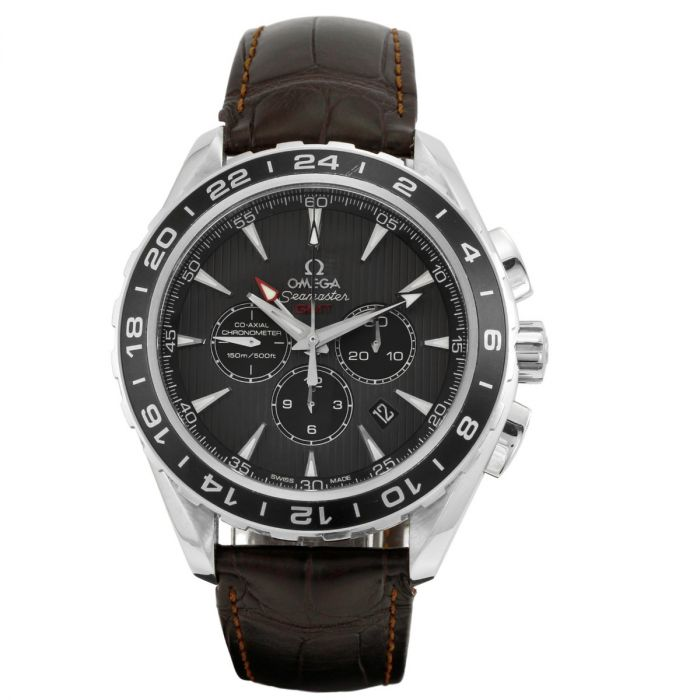 Pre-Owned OMEGA Seamaster GMT Chronograph Gents Watch O23113445206001