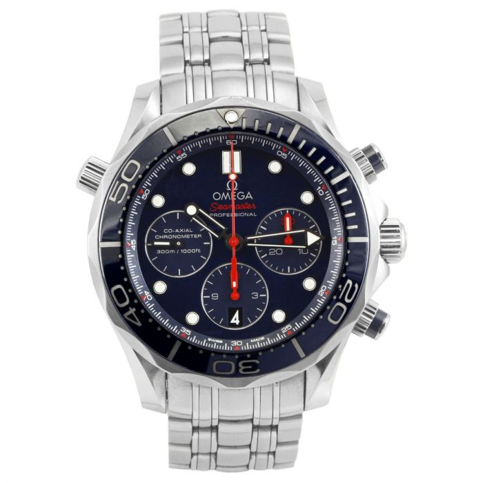 Pre-Owned OMEGA Seamaster 300 Chronograph Gents Watch O21230445003001