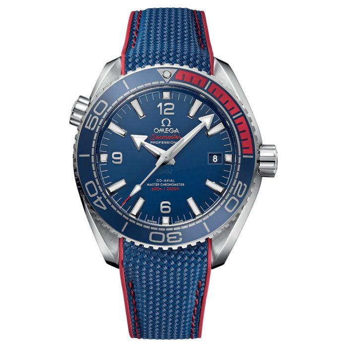 Omega Seamaster Planet Ocean 44mm PyeongChang 2018 Limited Edition Watch O52232442103001