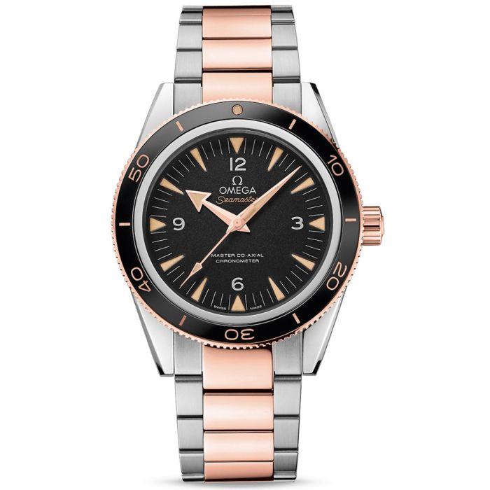 Omega Gents Seamaster Master Co-Axial 18ct Rose Gold & Steel Watch O23320412101001 SPECIAL