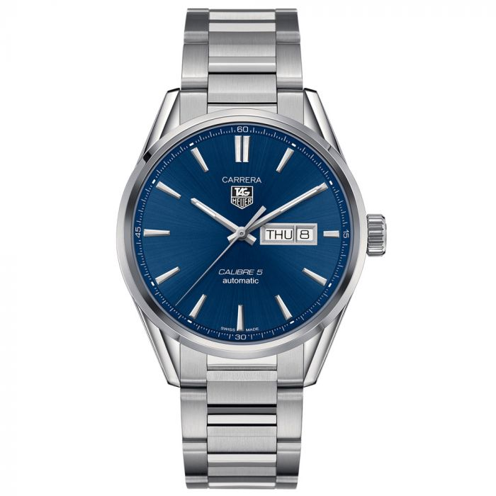 TAG Heuer Gents Carrera Stainless Steel Day Date Automatic Watch WAR201E.BA0723 SPECIAL