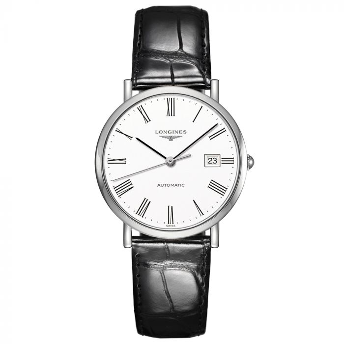 Longines Gents Elegant Collection 37mm Stainless Steel Automatic Watch L48104112