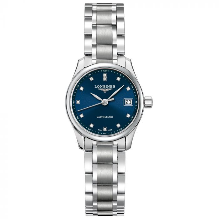 Longines Ladies Master Collection Stainless Steel Automatic Watch L21284976