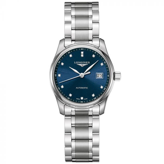 Longines Ladies Master Collection Date Stainless Steel Watch L22574976