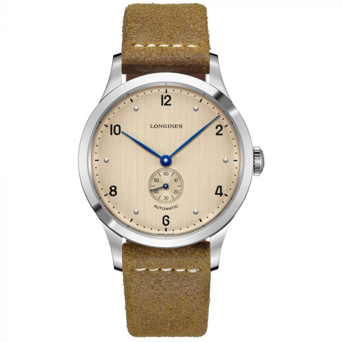Longines Gents Heritage 1945 Stainless Steel Automatic Watch L28134660