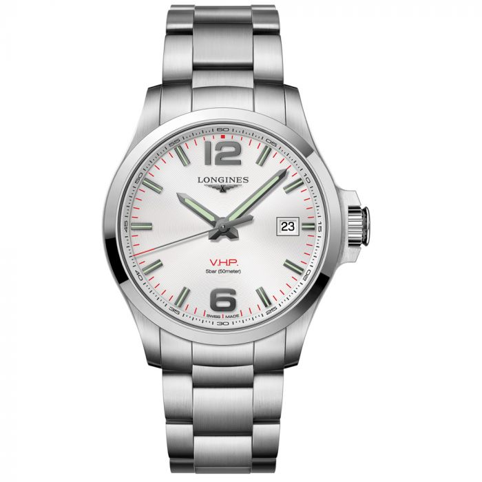 Longines Gents Conquest VHP Stainless Steel Watch L37264766