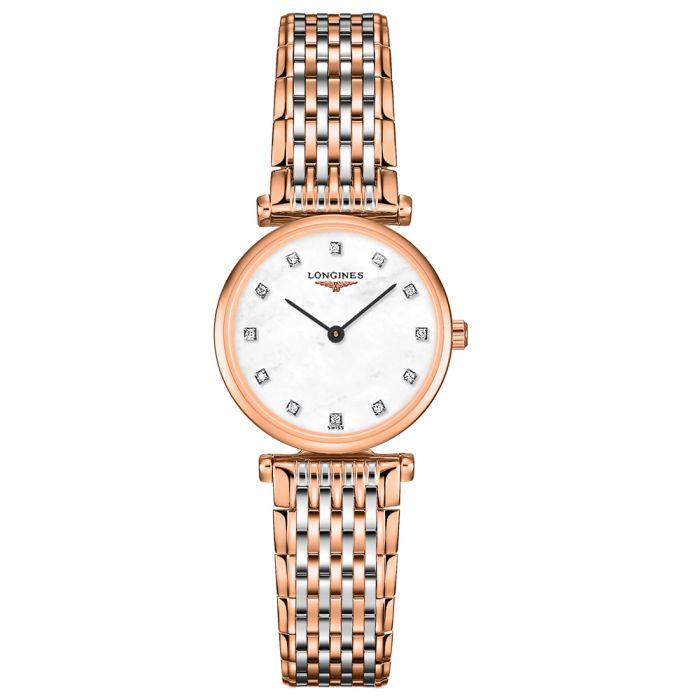 Longines Ladies La Grande Classique Diamond Watch L42091977