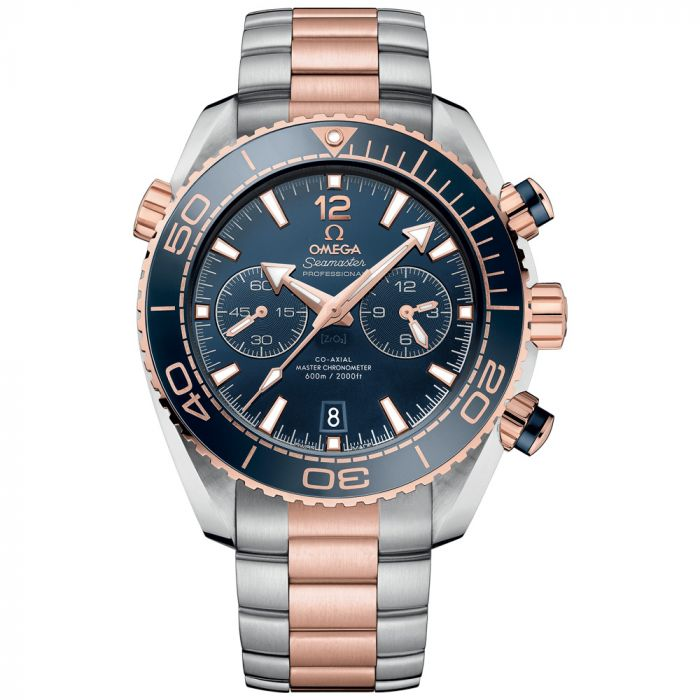 Omega Gents Seamaster Planet Ocean 18ct Rose Gold & Steel Master Chronometer Watch O21520465103001