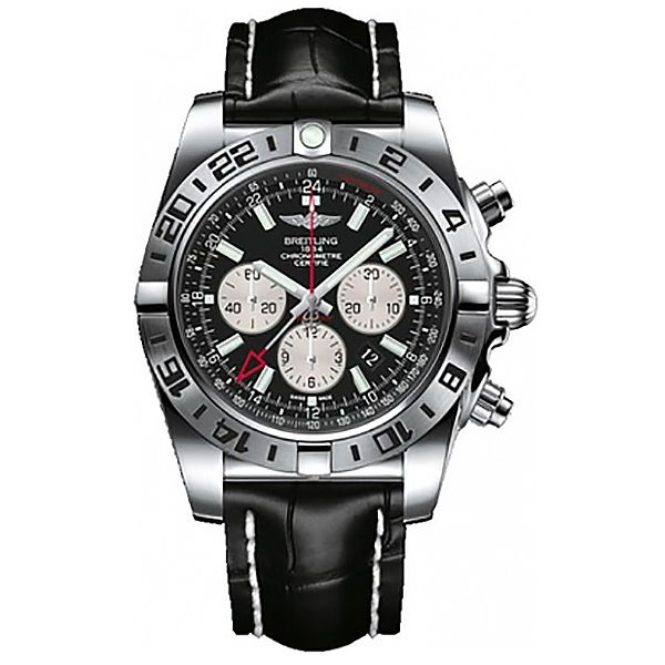Breitling Gents Chronomat Stainless Steel Watch AB0413B9/BD17/761P SPECIAL