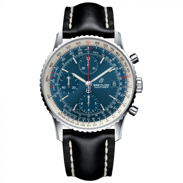 Breitling Gents Navitimer 1 Chronograph Stainless Steel Watch A13324121C1X1