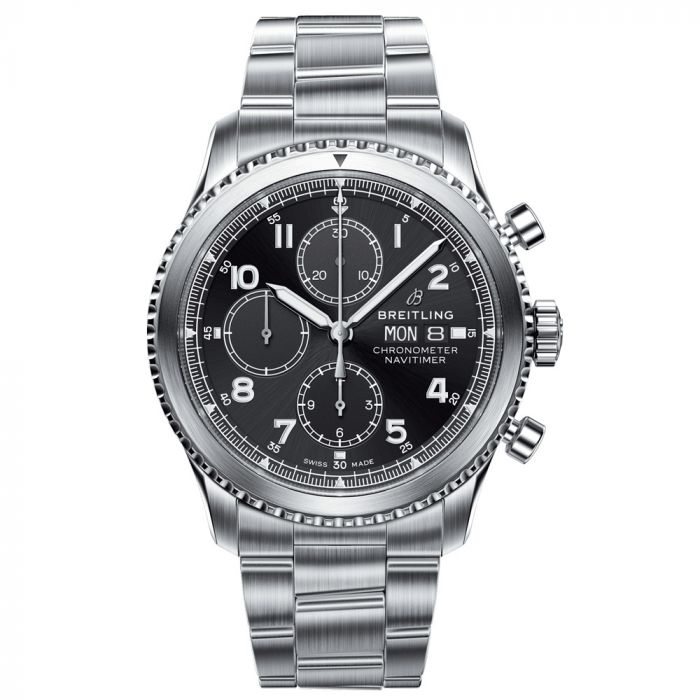 Breitling Gents Navitimer 8 Stainless Steel Chronograph Watch A13314101B1A1