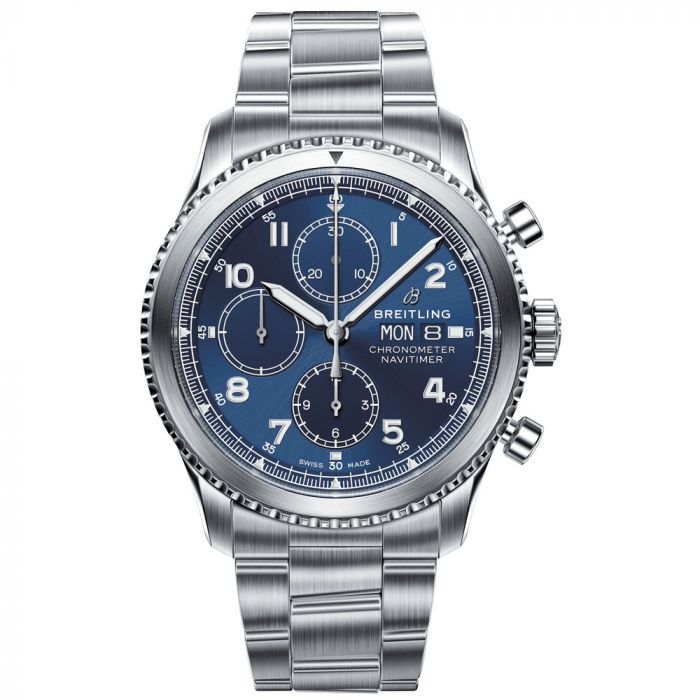 Breitling Gents Navitimer 8 Stainless Steel Chronograph Watch  A13314101C1A1 SPECIAL
